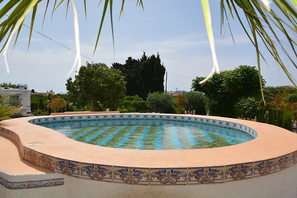Rarit t idyllisch u alleinlage ferienhaus in denia mieten for Ovaler pool garten