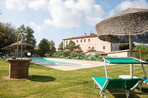 Appartamento 6 P +2 camere da letto + piscina in Montescudaio - immagine 1