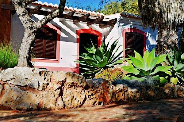 Noleggio Studio Rosa con piscina in Ferragudo - immagine 1