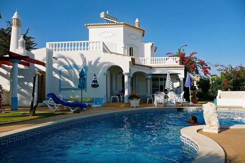 Ansicht der wunderschönen Villa