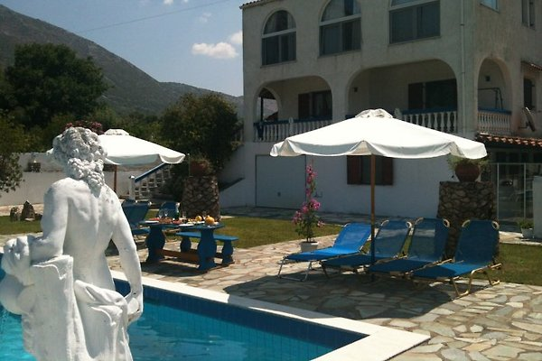 Das Rita Ferienhaus mit den 5 Studios