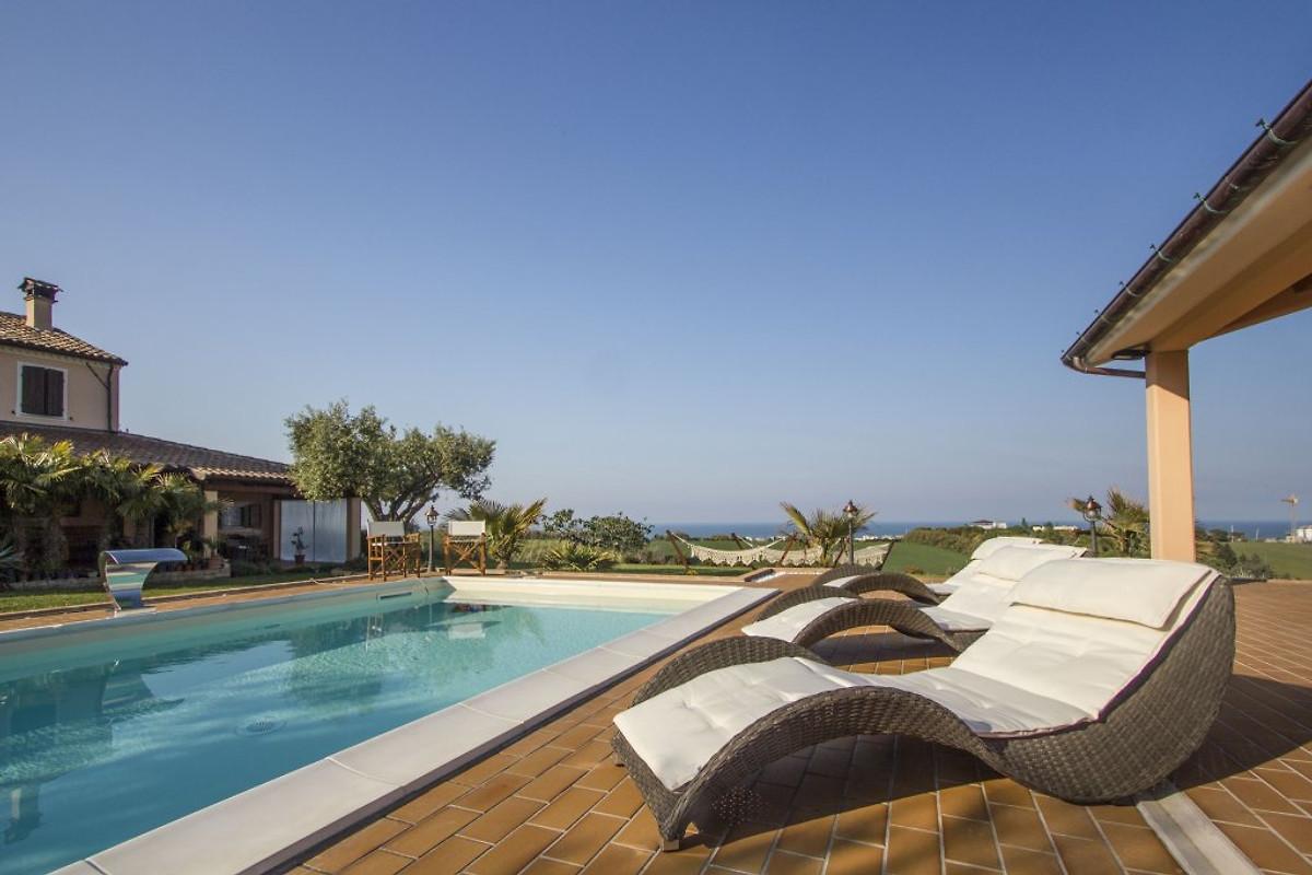 Il villino appartamento in san costanzo affittare - Il giardino sul mare ...