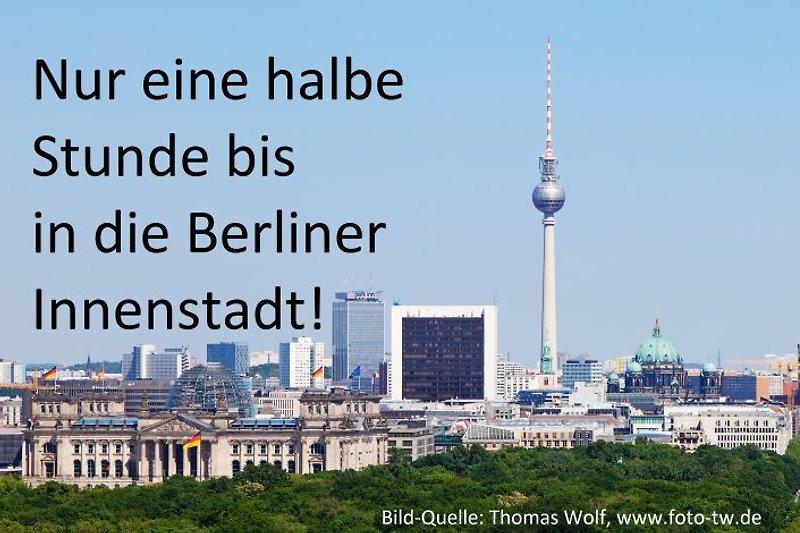 Nur eine halbe Stunde bis in die Berliner Innenstadt!