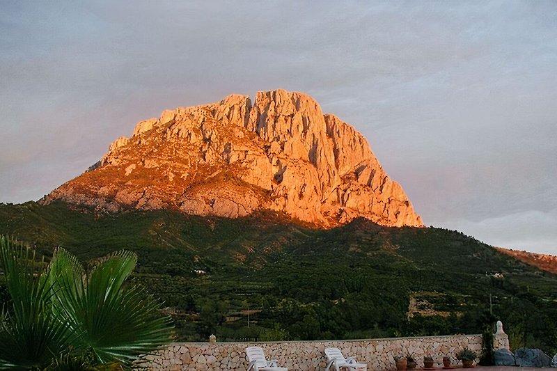Blick auf Puig Campana