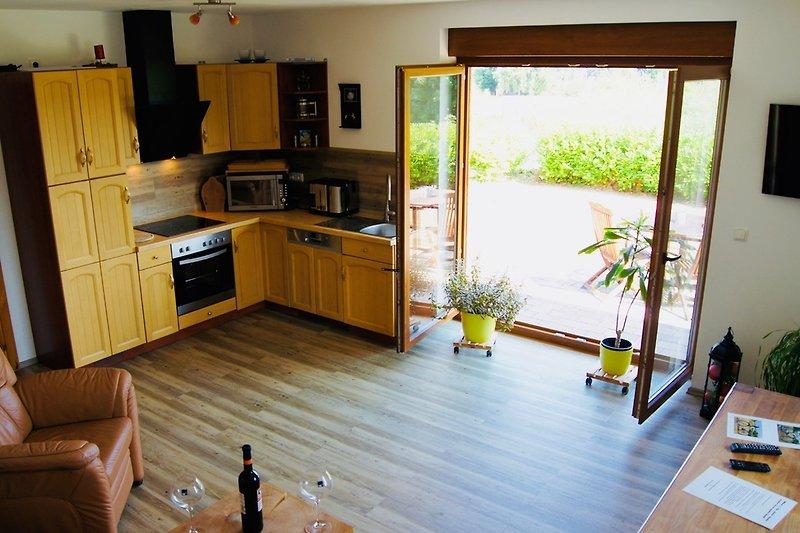 Küche & Terrassenausgang