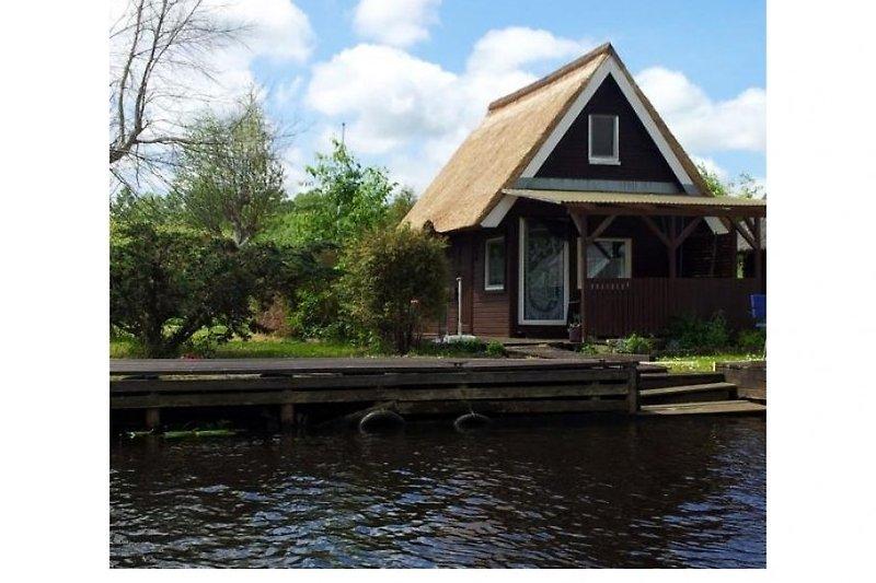 Das Haus von der Wasserseite