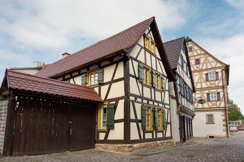 neu renoviertes Fachwerkhaus