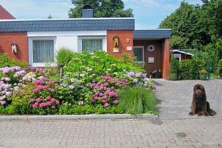 4-Sterne-Ferienhaus unmittelbar hinterm Deich der Nordsee neu: mit großem Wintergarten