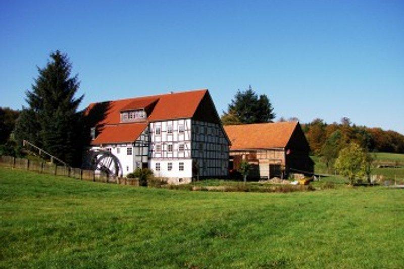 Die romatische Mühle