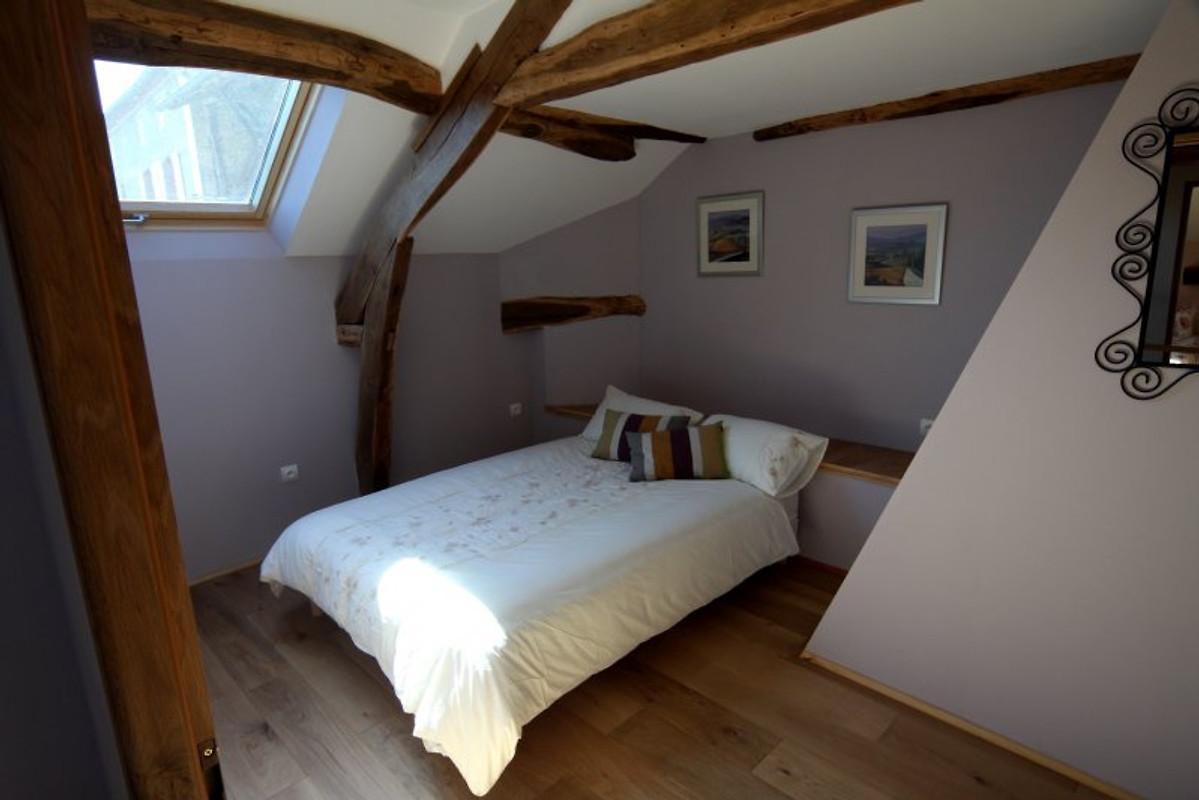 Schlafzimmer Le pyrenees gite le fournil pool ferienhaus in loudet mieten
