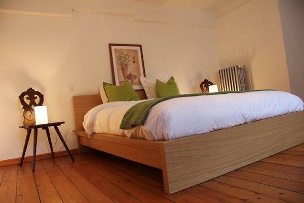 LE PATIO - Doppelzimmer mit einem Bett von 160x200cm