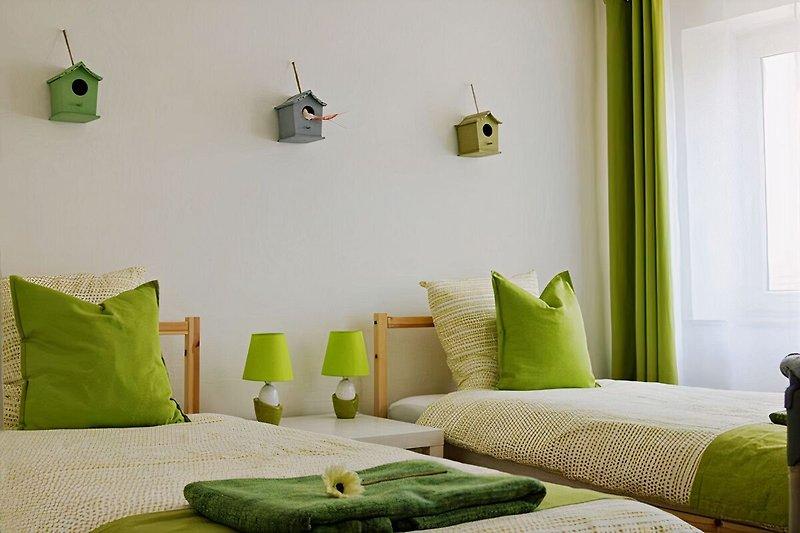 LE PATIO - Doppelzimmer mit 2 Betten 90x200 cm