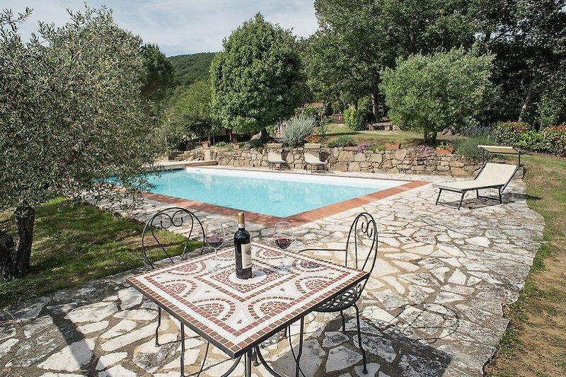 Casa Erardo avec piscine privée à Mercatale di Cortona - Image 2