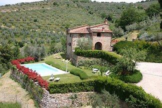 Villa à Cortona avec piscine privée
