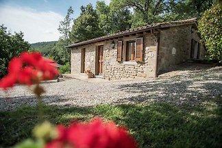 Casa in pietra a 3 Pers. con piscina