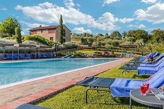 Ferienhaus Volpe Bucine mit Pool