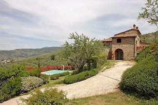 Villa en Cortona con piscina privada