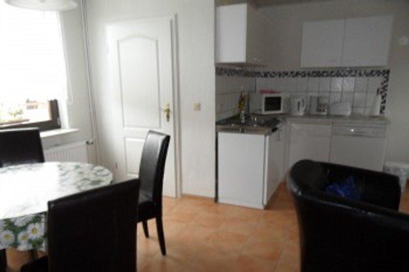 Küche, Wohn- und Schlafraum