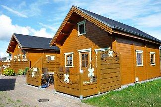 Holzblockferienhaus Nr. 1