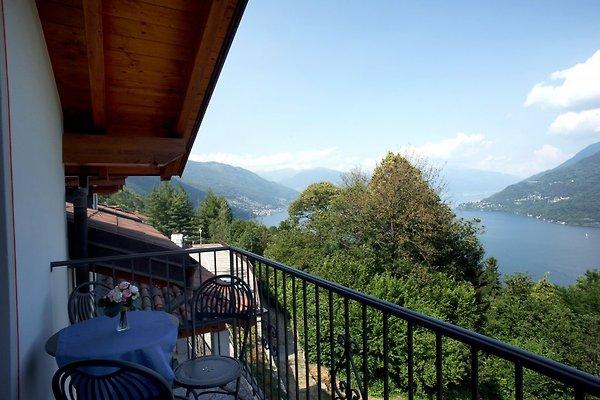 Balkon mit Traumseesicht