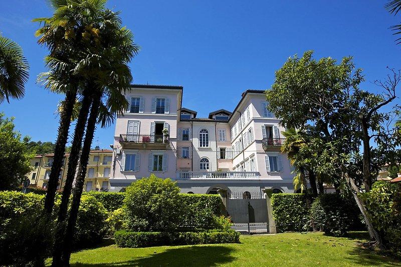 Ansicht des 'Palazzo Bedone'