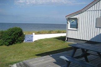 Strandbaden bei Öresund Südschweden