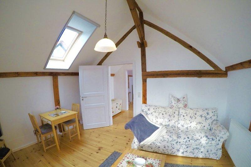 Romantisches ferienhaus am see in oberuckersee frau richter - Romantisches wohnzimmer ...