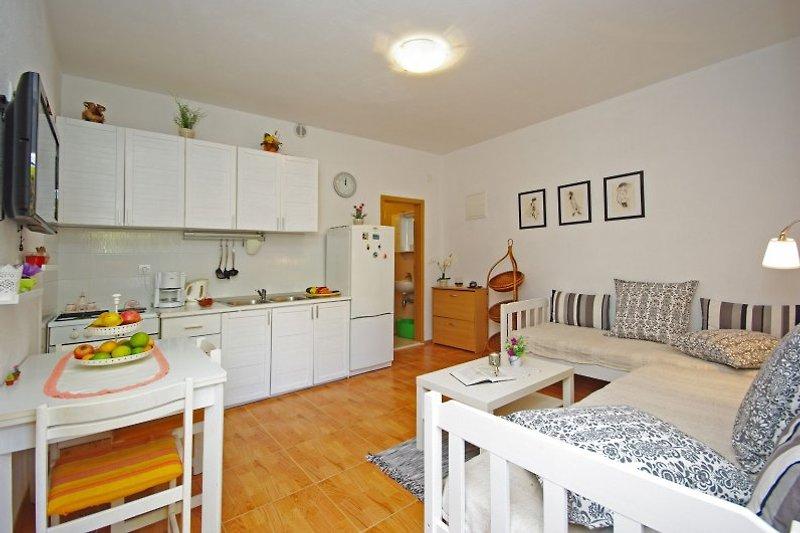 Apartment 1 mit Sat-tv.