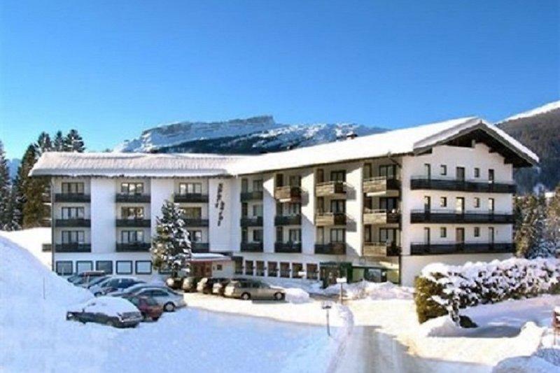Sporthotel im Winter