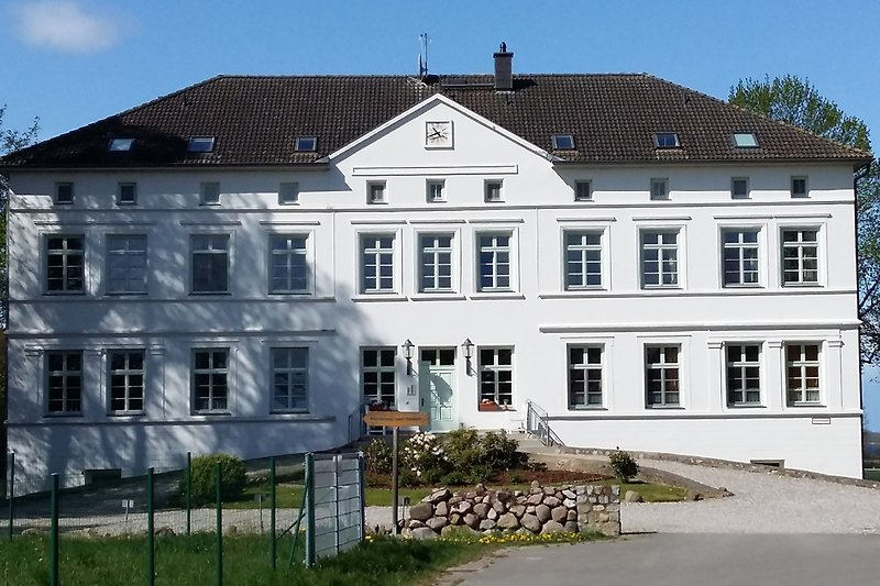 Ansicht Herrenhaus in Rerik-Blengow