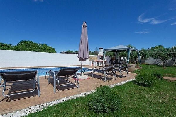 Vakantiehuis met zwembad 150m van het strand vakantiehuis in pomer huren - Zwembad met strand ...