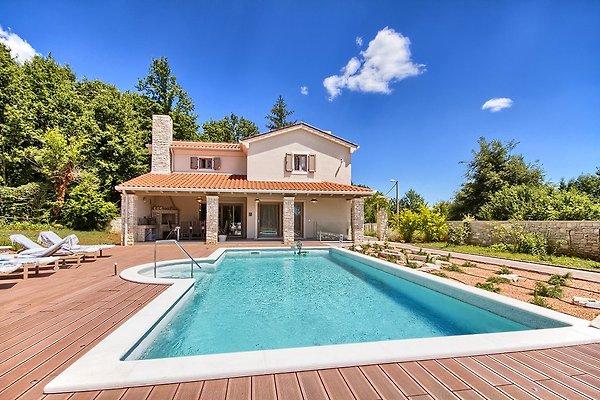 Luxus Vila mit Pool, Jacuzzi, Sauna in Labin - Bild 1
