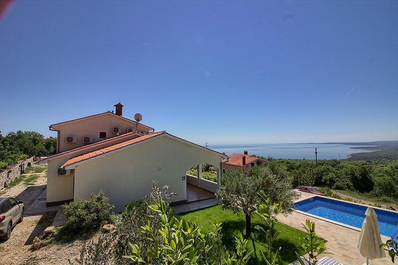 Villa Marevista mit pool in Istria - wiibuk.com