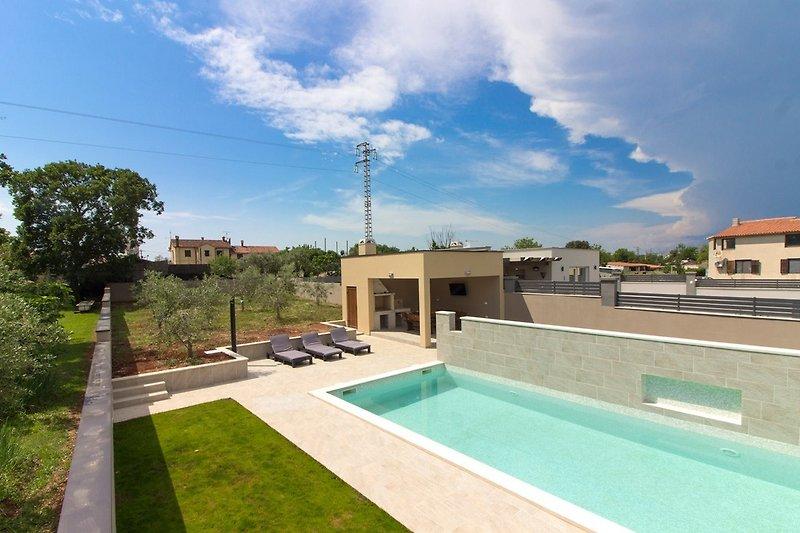 Villa Markulin in Medulin mit pool - wiibuk.com