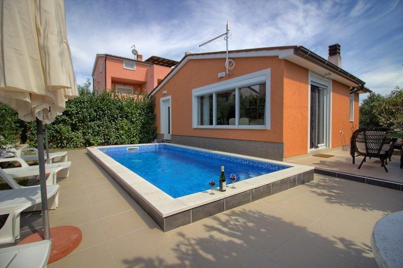Villa mit Pool in Medulin - wiibuk.com