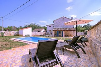 Istrian Villa Sasso with pool