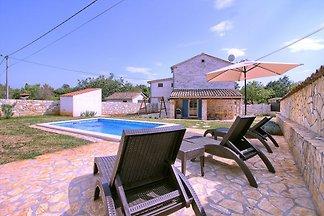 Istrische Villa Sasso mit Pool