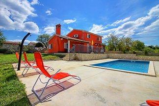 Villa Marina,pool,trampoline,max 8