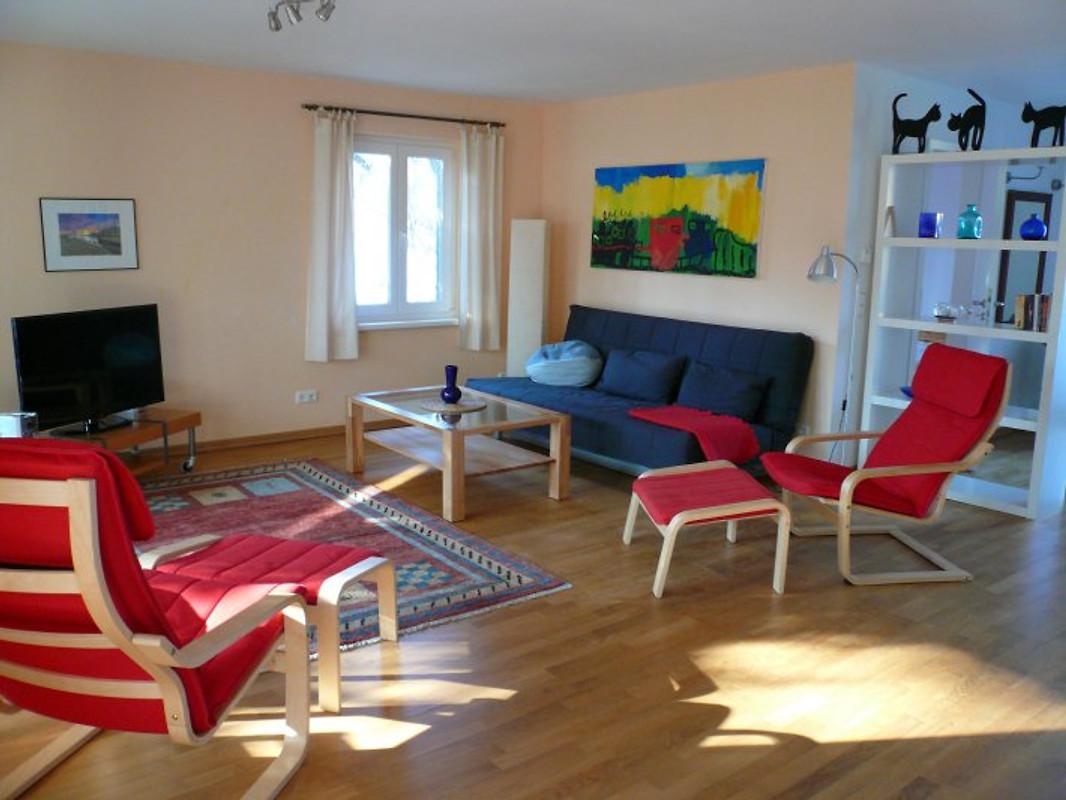 Waldblick ferienwohnung in baabe mieten for Wohnzimmer 80 qm