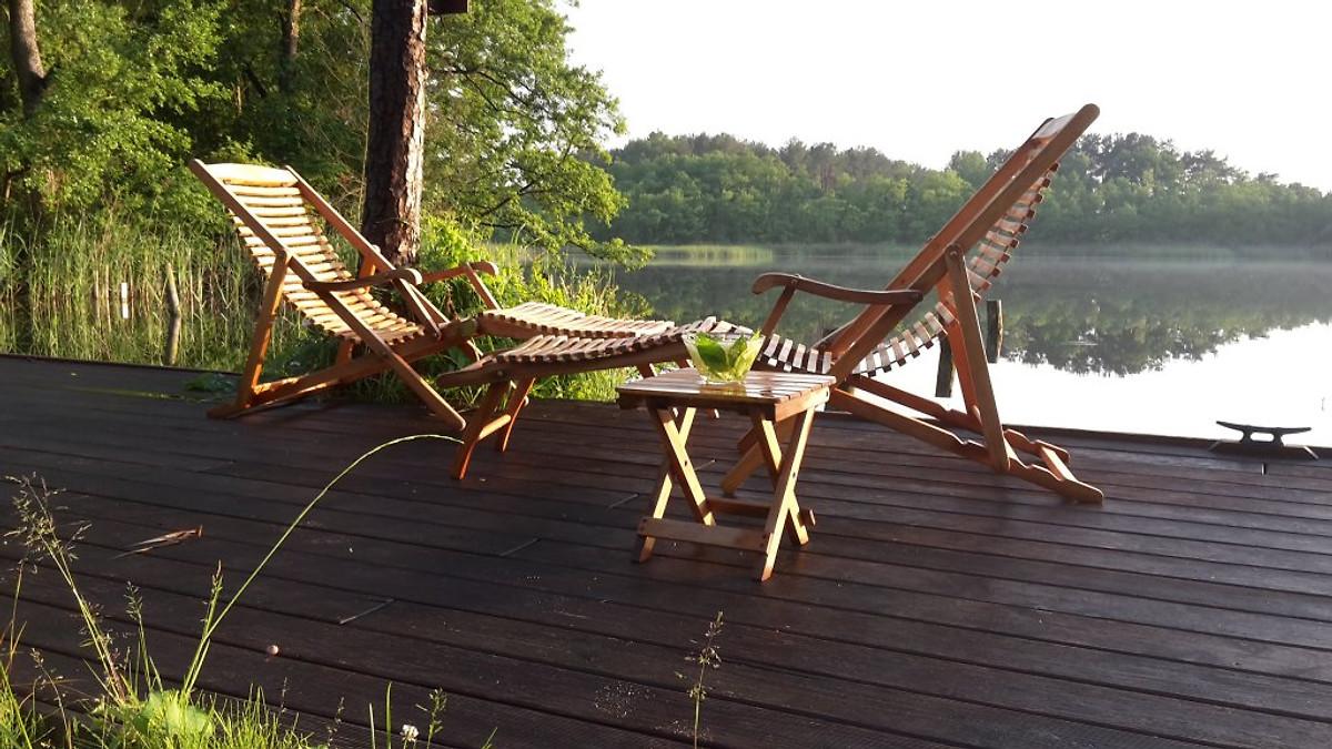 Direkt am See - Natur genießen ! - Ferienwohnung in Strasen mieten