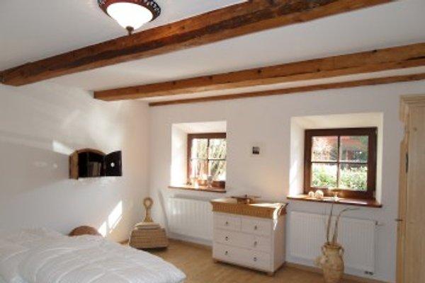 Schlafzimmer im 85qm-Apartment
