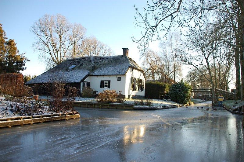 Der Bauerhof im Winter