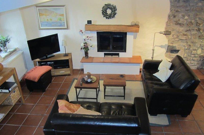 Das Wohnzimmer, ein Ort zum Entspannen
