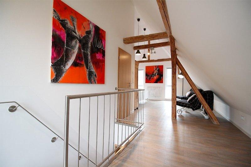 Dachgeschoss Luxus Chalet Salzenweiler