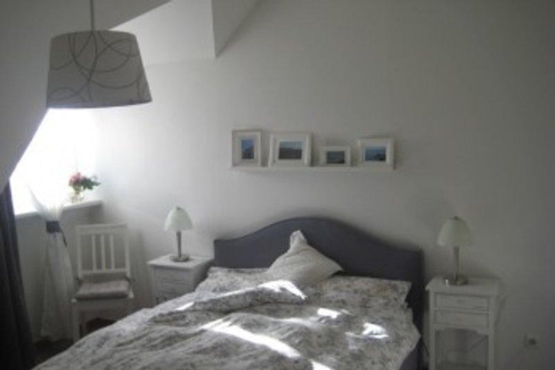Schlafzimmer Ferienwohnung BINNEN