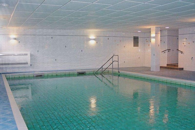 Großes, hauseigenes Schwimmbad im Wellnessbereich (gratis !!!)
