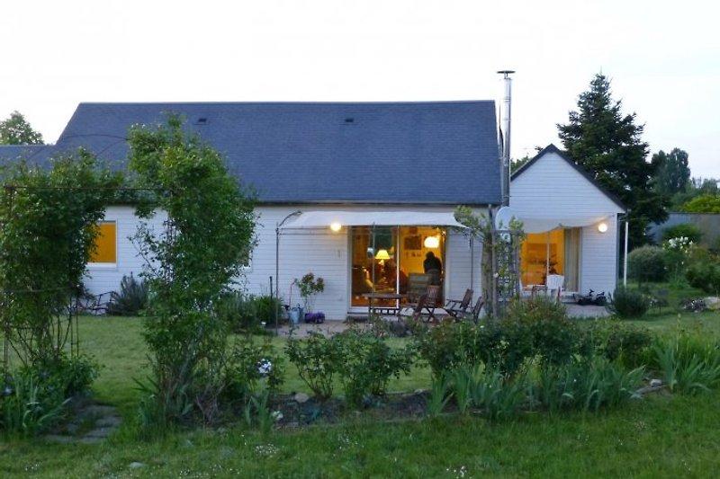 Haus und Studio von der Südseite