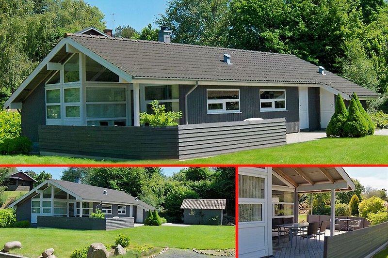 Qualitäts Ferienhaus in ruhiger Umgebung. Viel Platz in und um das Haus. Erbaut 2006