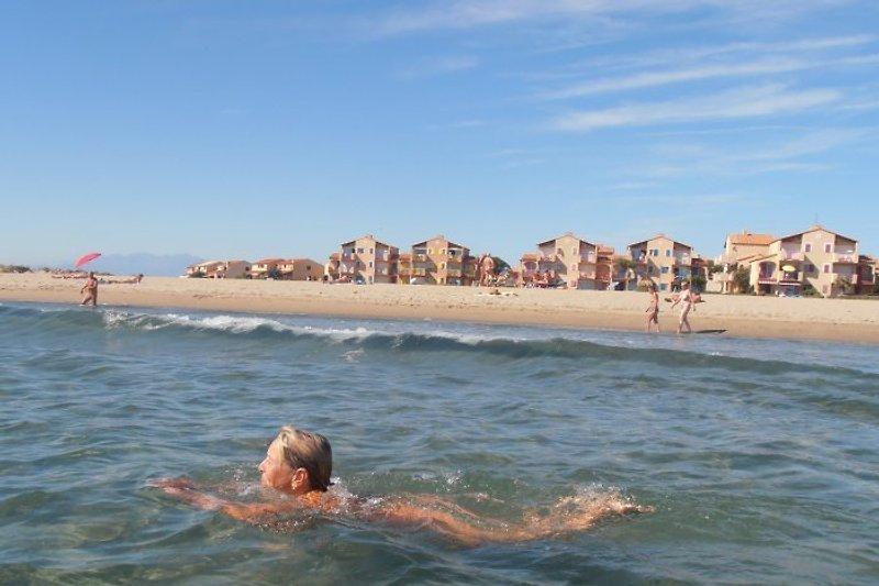 Naturist beach 50m from apartment