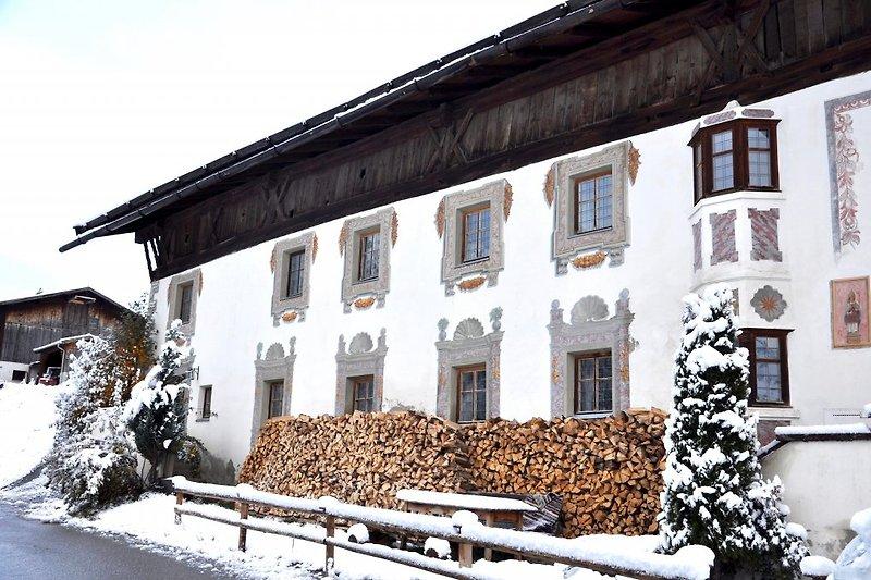 Peerhof im Winter